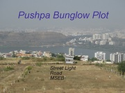lake view open plots sell in katraj