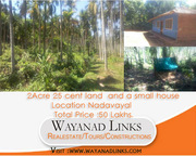 Excellent  2Acre 25 cent land view based in Nadavayal,  Wayanad