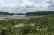 1 acre 90cent  water frontage land for sale in Nellarachal.