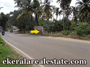 Nedumangad Trivandrum road frontage land for sale