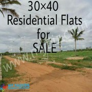 30*40 -1200 sq.ft residential Sites for sale--27lacs
