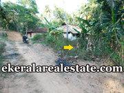 Kariyam Sreekariyam  13 cents land per cent 4.5 lakhs for sale