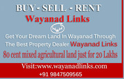80 cent mixed agricultural land just for 20Lakhs in Wayanad